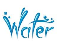 Icono del agua Foto de archivo libre de regalías