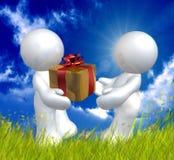 Icono del amor de la tarjeta del día de San Valentín Foto de archivo libre de regalías