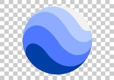 icono del apk de Google Earth Foto de archivo