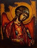 Icono del arcángel Michael Fotografía de archivo