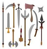 Icono del arma de la historieta stock de ilustración