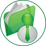 Icono del asunto imagen de archivo libre de regalías