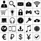 Icono del asunto stock de ilustración