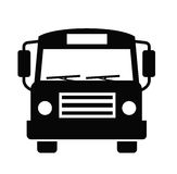 Icono del autobús Fotos de archivo libres de regalías