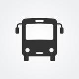 Icono del autobús Imagenes de archivo