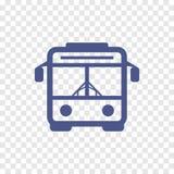Icono del autobús Foto de archivo libre de regalías