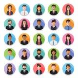 Icono del avatar de la gente Foto de archivo
