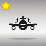 Icono del avión de aire Imágenes de archivo libres de regalías