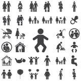 Icono del bebé libre illustration