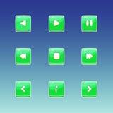 Icono del botón del juego ilustración del vector