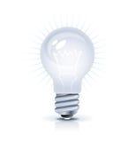 Icono del bulbo stock de ilustración
