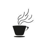 Icono del café Foto de archivo