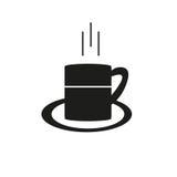 Icono del café Fotografía de archivo