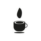 Icono del café Imagen de archivo libre de regalías