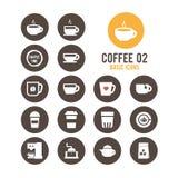 Icono del café Ilustración del vector libre illustration
