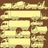 Icono del camión Imagenes de archivo