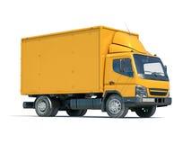 Icono del camión de reparto fotos de archivo