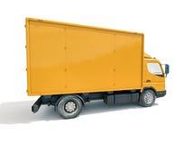 Icono del camión de reparto imágenes de archivo libres de regalías