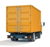 Icono del camión de reparto foto de archivo