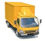 Icono del camión de reparto imagen de archivo