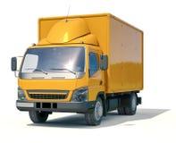 Icono del camión de reparto imagenes de archivo