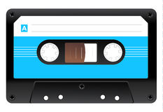 Icono del casete audio Imagen de archivo libre de regalías