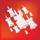 Icono del casquillo de Papá Noel Foto de archivo libre de regalías