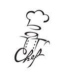 Icono del cocinero Fotografía de archivo libre de regalías