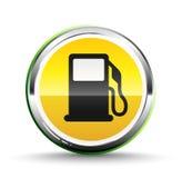 Icono del combustible Foto de archivo libre de regalías