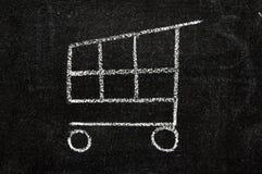 Icono del comercio electrónico Imagen de archivo libre de regalías