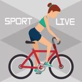Icono del concepto del deporte Foto de archivo
