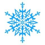 Icono del copo de nieve Illlustration del vector Foto de archivo libre de regalías