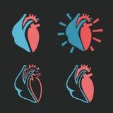 Icono 01 A del corazón Fotografía de archivo libre de regalías