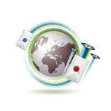 Icono del correo Foto de archivo libre de regalías