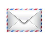 Icono del correo Fotografía de archivo libre de regalías