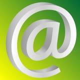 Icono del correo Fotografía de archivo