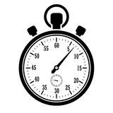Icono del cronómetro Fotografía de archivo libre de regalías