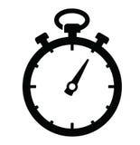 Icono del cronómetro Foto de archivo