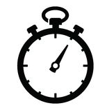 Icono del cronómetro libre illustration