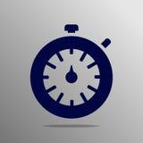 Icono del cronómetro Imágenes de archivo libres de regalías