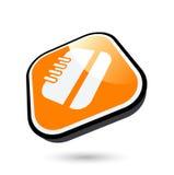 icono del cuaderno 3D Imagen de archivo libre de regalías