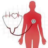 Icono del cuidado médico Imagenes de archivo
