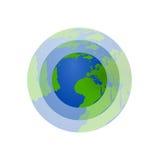 Icono del Día de la Tierra - ejemplo Fotos de archivo
