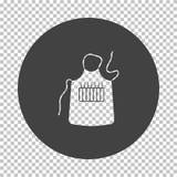 Icono del delantal del artista libre illustration