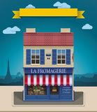 Icono del departamento XXL del queso del vector Imagenes de archivo