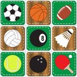 Icono del deporte Foto de archivo libre de regalías