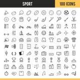 Icono del deporte Ilustración del vector Fotos de archivo