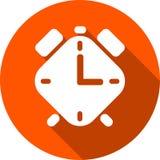 Icono del despertador Foto de archivo