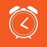 Icono del despertador, ejemplo simple del vector Foto de archivo