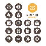Icono del dinero Ilustración del vector Foto de archivo libre de regalías